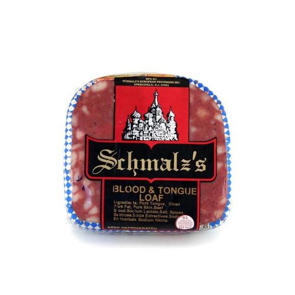 Blood & Tongue Loaf, Schmalz (1 lbs)