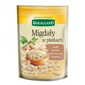 Almond Flakes, Migdaly w Platkach, Bakalland 75g