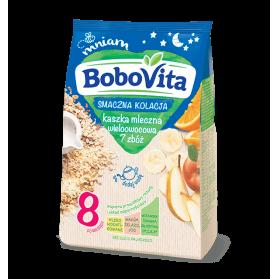Cereal with Multifruit / Kaszka Mleczna, Bobovita 230g
