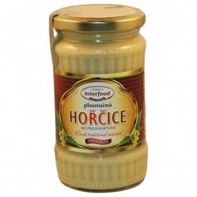 Interfood Horcice Plnotucna 340g/12oz