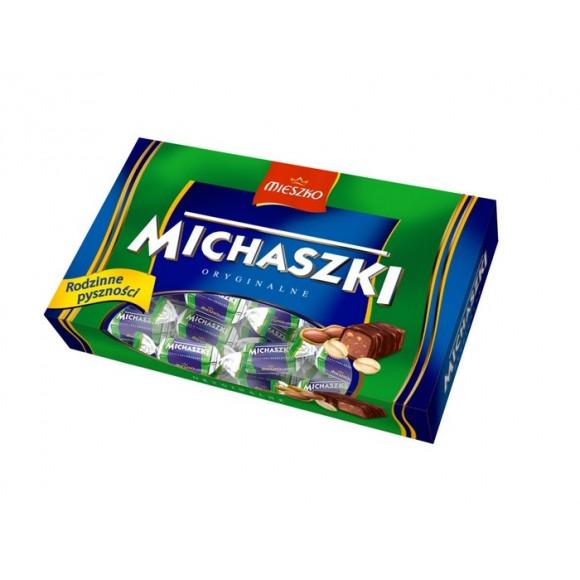 Mieszko Michaszki Orzechowe / Peanut Butter Candies-box 220g