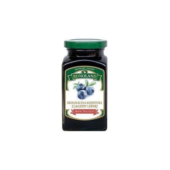 Runoland Organic Blueberries jam 300g