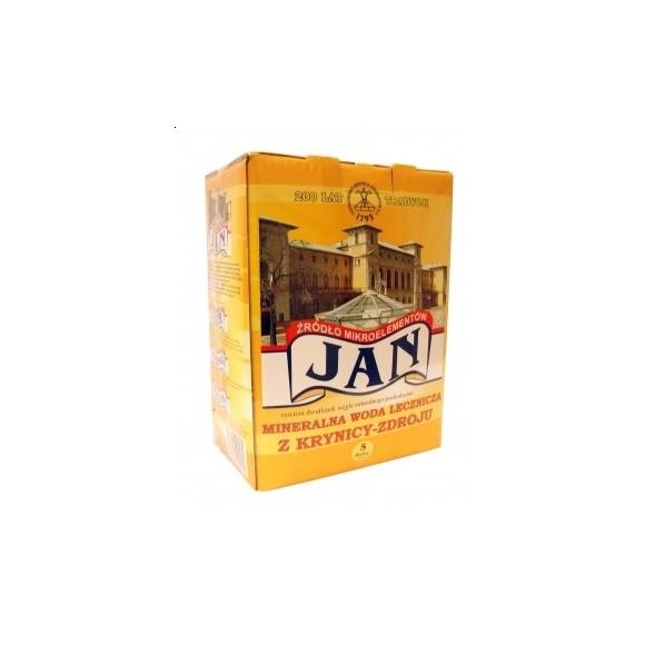 "The ""JAN"" spring acidulous hypotonic water 5 liters"