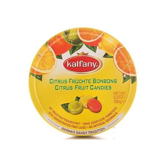 Kalfany Citrus Bonbons 150g (Ctitrus Fruit Candy 5.3oz)
