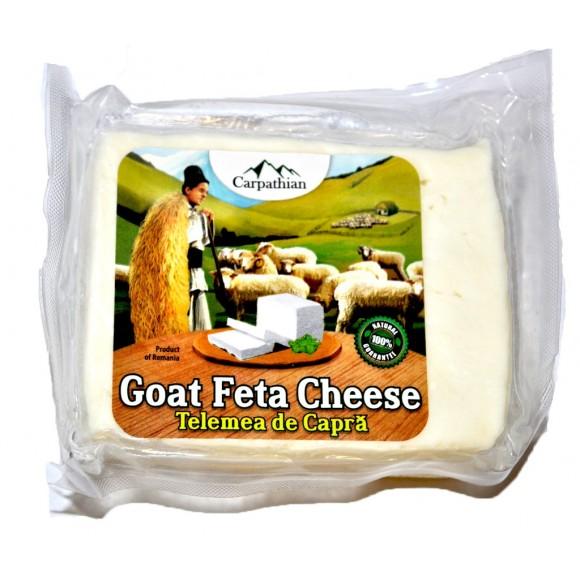 Goat Feta Cheese (Telemea de Capra) Aprox 400g