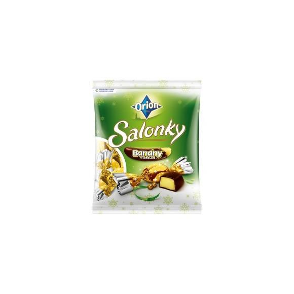 Orion Christmas Candy- Salonky Banany v Cokolade 380g