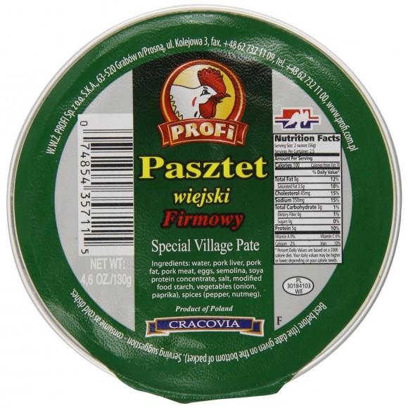 Profi Village Pate / Pasztet Wiejski Firmowy 130g/4.6oz