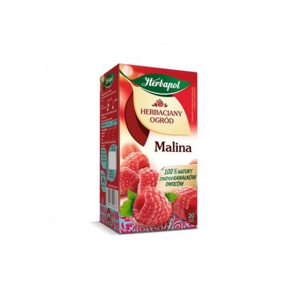 Herbapol Raspberry Tea / Malinowa 20 bags 54g/1.90oz