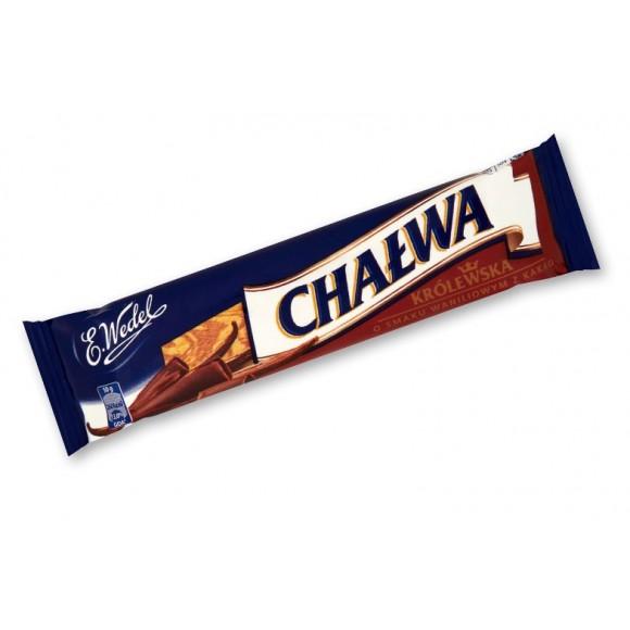 E.Wedel Chalwa Krolewska, Vanilla with Cocoa 50g./1.76oz.