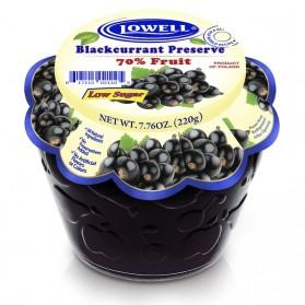 Lowell Blackcurrant Preserves 220g / 7.76oz