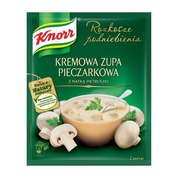 Knorr Creamy Mushroom Soup / Zupa Grzybowa 45g.