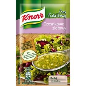 Knorr Herb-Garlic Sauce / Sos Salatkowy Czosnkowo-Ziolowy 9g.