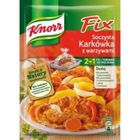 Knorr Fix  Juicy Pork with Vegetables / Soczysta Karkowka z Warzywami  24g.