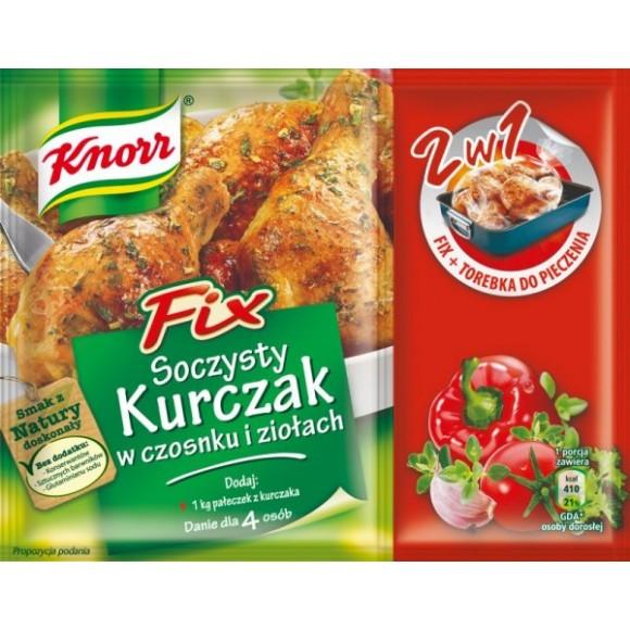 Knorr Fix Juicy Chicken in Garlic and Herbs / Soczysty Kurczak w Czosnku i Ziolach 32g/1.13oz
