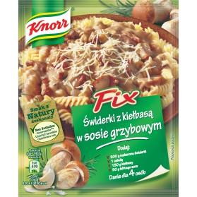 Knorr Fix  Pasta with Sausage and Mushroom Sauce / Gulasz z Kurczaka 24g.