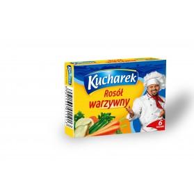Kucharek Vegetables Bouillon Soup / Kostka Rosol Warzywny,12 pieces , 60g