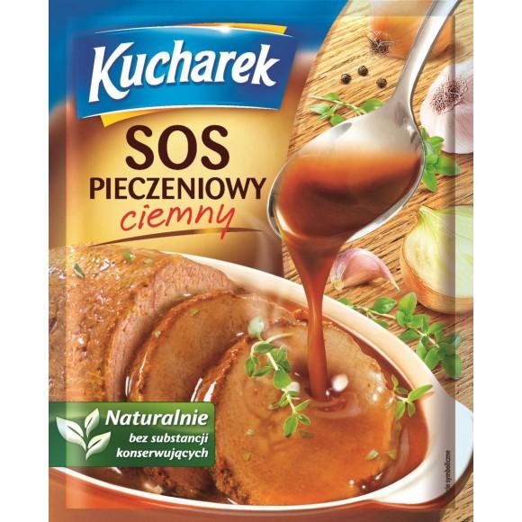 Kucharek  Sauce for Roast Meat- Dark / Sos Pieczeniowy Ciemny  24g/0.96oz