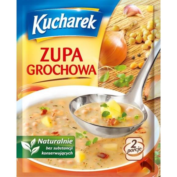 Kucharek Lentil Soup / Zupa Grochowa 45g.