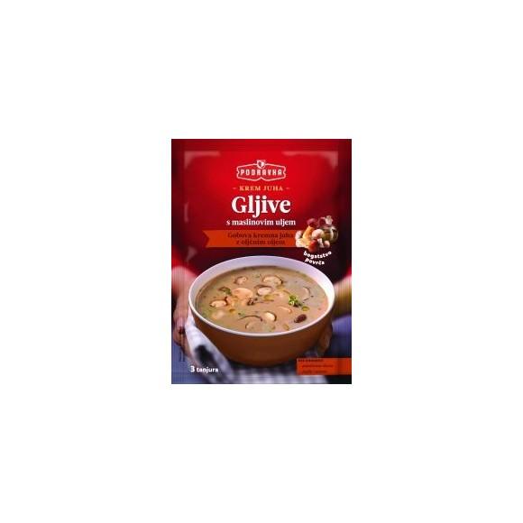 Podravka Mushroom Soup with Olive Oil / Gobova Kremna Juha z Oljčnim Oljem 45g.