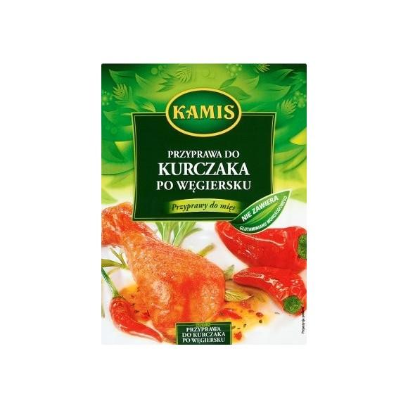 Kamis Seasoning for Chicken in Hungarian/ Przyprawa do Kurczaka po Węgiersku 20g.