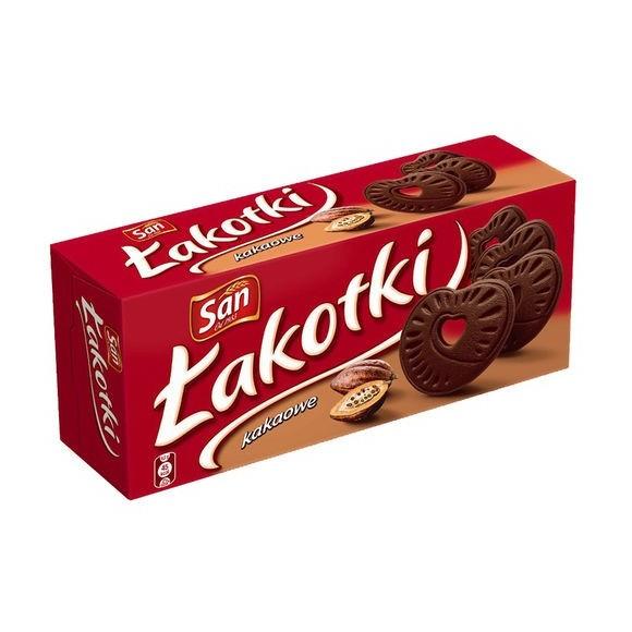 San Cocoa Lakotki / Łakotki Kakaowe 168g