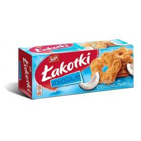 San Coconut Lakotki / Łakotki Kokosowe 168g