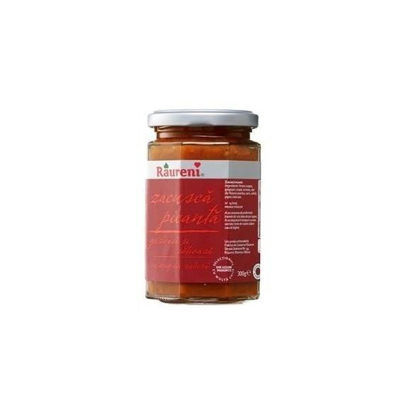 Raureni Spicy vegetable spread  300g/ ZACUSCA PICANTA