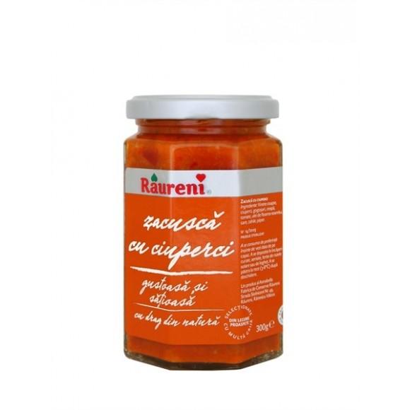Raureni Zacusca with Mushroom 300g / Zacusca cu Cuperci