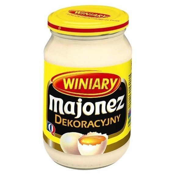 Winiary Mayonnaise / Majonez Dekoracyjny 400ml./14.11oz.