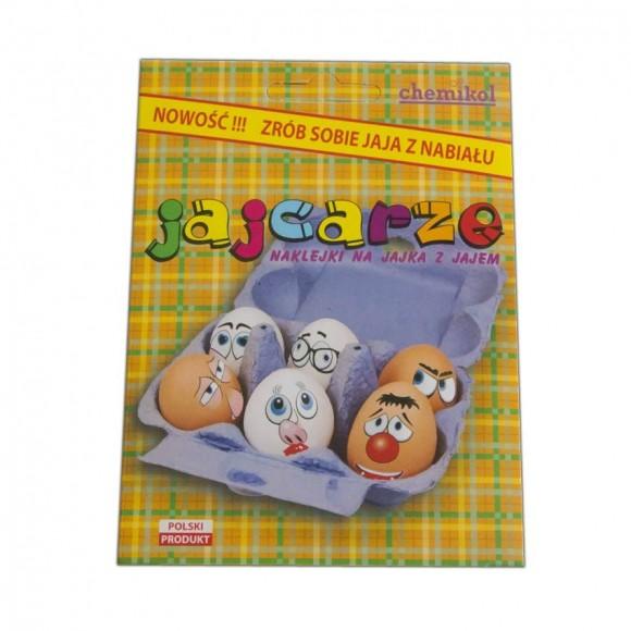 Sticker on Eggs / Naklejki na Jajka z Jajem