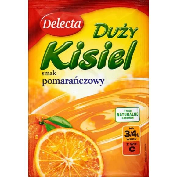 Delecta Orange Jelly / Kisiel Smak Pomarańczowy 58g