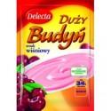 Delecta Cherry Pudding / Duży Budyń Smak Wiśniowy 64g.