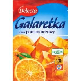 Delecta Galaretka Orange Soft Jelly / Smak Pomarańczowy 75g./2,65oz.