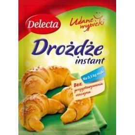 Delecta Yeast Instant / Drożdże Instant 8g./2.82oz.