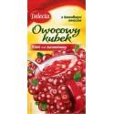 Delecta Cranberry Jelly Fruit Cup / Kisiel Żurawinowy z Kawałkami Owoców 30g./1.06oz.