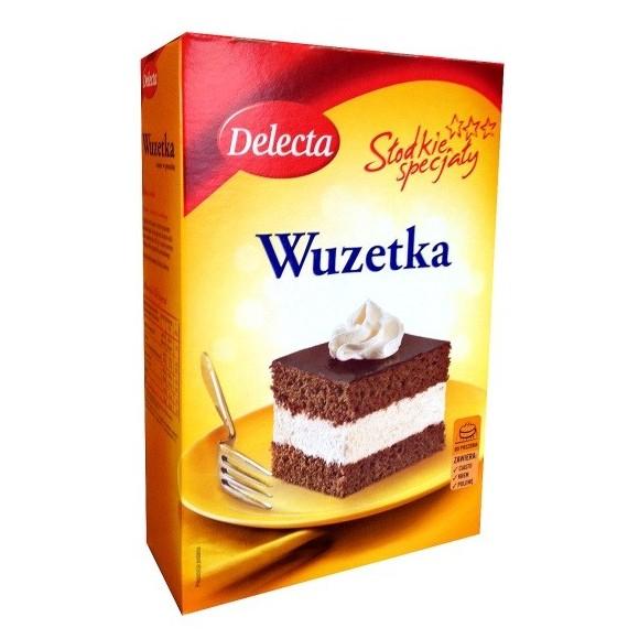 Delecta Wuzetka Cake 490g/17.2oz.