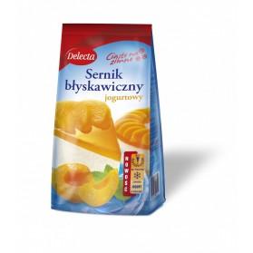 Delecta Instant Cheesecake Mix Yogurt Flavor/Sernik smak Jogurtowy 183g/6.80oz.