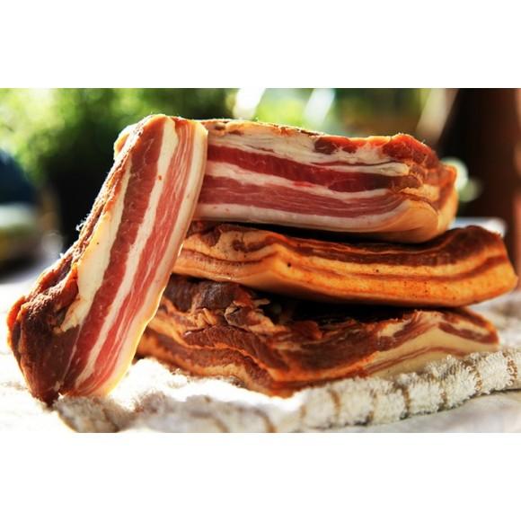 Romanian Smoked Bacon / Slanina Afumata Approx 0.9 lb