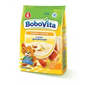 Bobovita Rice Gruel with Pear Flavor/Kaszka Ryżowa o smaku Gruszkowym 180g/6.35oz.