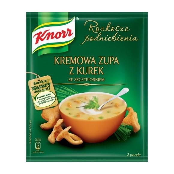 Knorr Creamy Soup with Chanterelle/Kremowa Zupa z Kurek 59g/ 2.08oz.