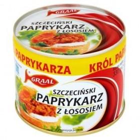 Graal Paprikash with Salmon/Szczeciński Paprykarz z Łososiem 330g./11,64oz.