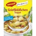 Maggi Grießklößchen Suppe / Semolina Dumpling Soup Mix 59g./3.53oz