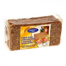 Lowell Whole Rye Bread Sunflower Seeds/Chleb Żytni z Pestkami Słonecznika 500g