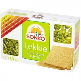 Sonko Light Bread with spelled and pumpkin/Pieczywo Lekkie z orkiszem i dynią 170g./6oz.