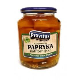 KON Provitus Marinated Yellow Pepper 270g
