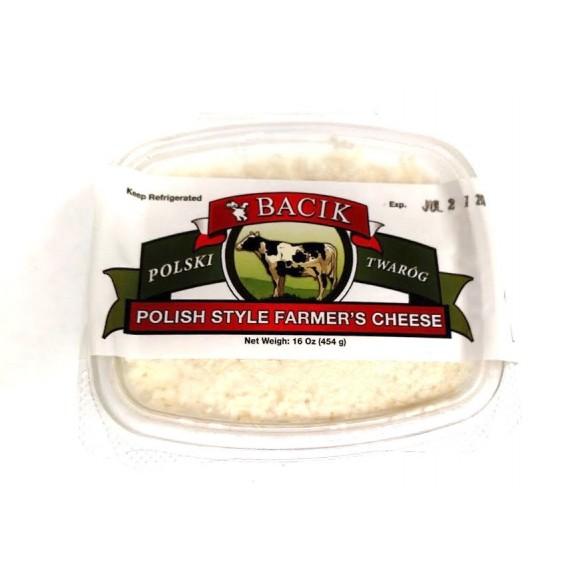 KON Bacik Polish Style Farmer Cheese 454g
