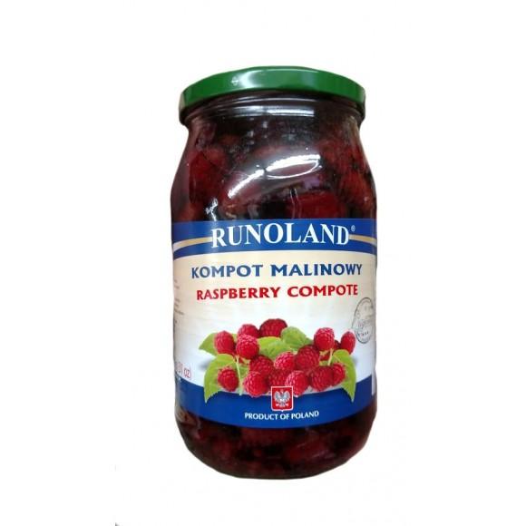 Runoland Raspberry in Light Syrup 920g/16oz