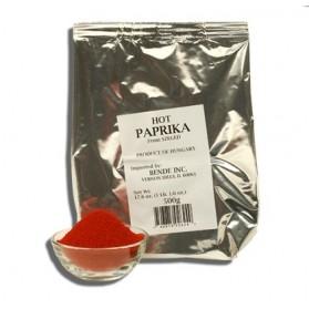 Hungarian Hot Paprika Bag 17.6oz/500g