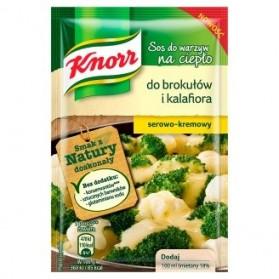 Knorr Broccoli cauliflower cheese sause mix(sos do warzyw na cieplo do brokulow i kalafiora)23g