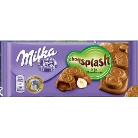Milka splash hazelnuts 100g(B)